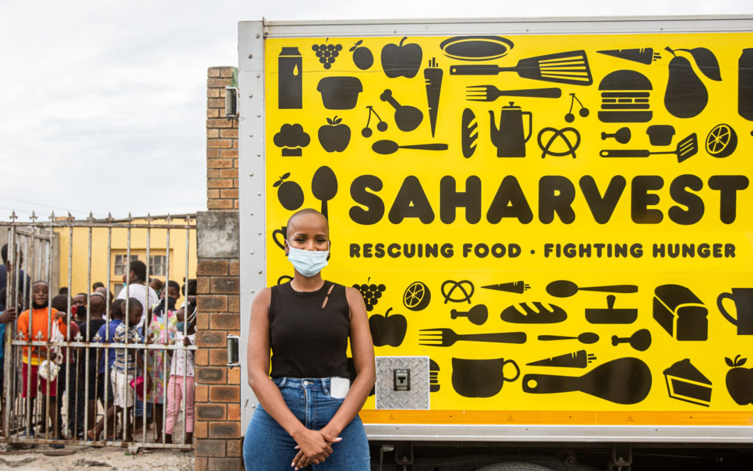 Miss South Africa raises awareness of food insecurity in Cape Town
