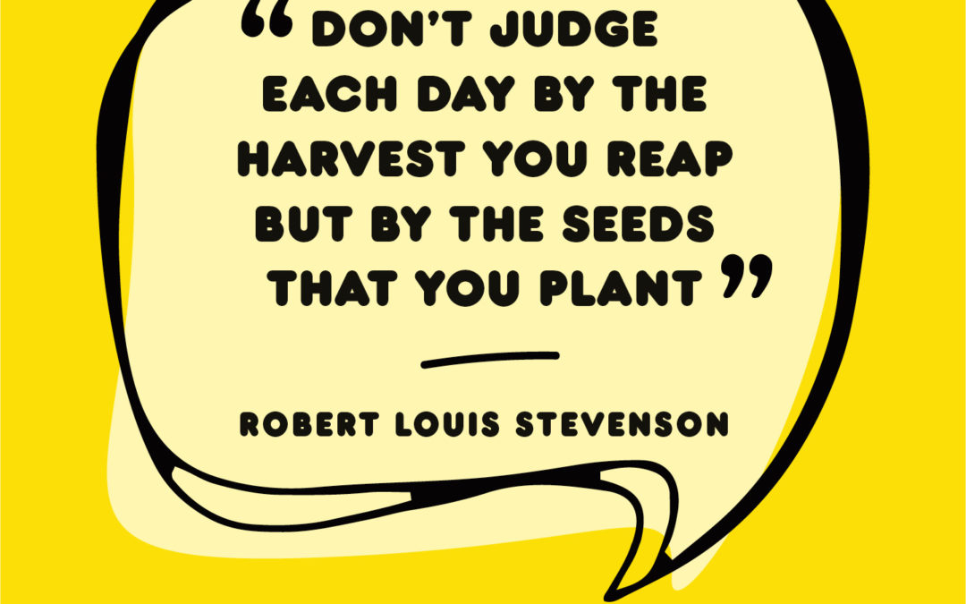 Planting seeds to harvest systemic solutions
